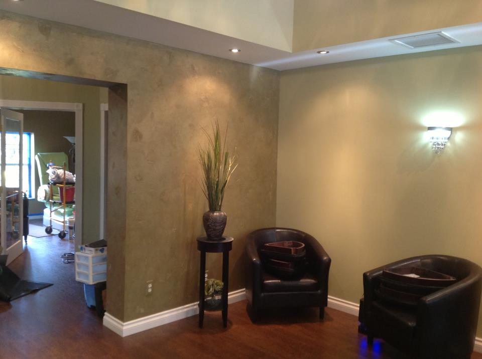 Salon Verde Feature Wall-Click for larger image